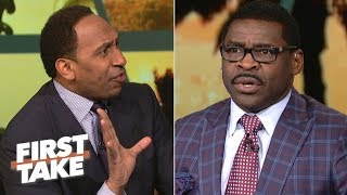 Stephen A. and Michael Irvin have a heated argument about the Cowboys | First Take