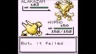 Pokemon R/B/Y - How to get stuck in an infinite battle