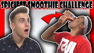 SPICIEST DRINK IN THE WORLD CHALLENGE! (FT. Reaction Time, dangmattsmith)