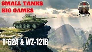 T-62A & Wz-121B Big game Hunting World of Tanks Blitz