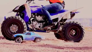 EPIC DIRTBIKE RACE VS RC CAR Adventure!!