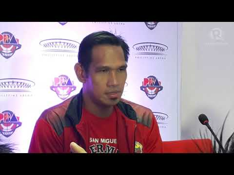 PBA's only five-time MVP June Mar Fajardo says he's not the greatest of all time