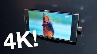 Xperia Z5 Premium: Finally a 4K phone