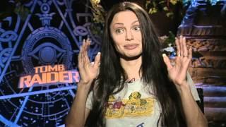 Lara Croft: Tomb Raider: Angelina Jolie Interview