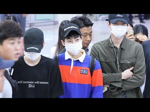 180827 엑소(EXO) 입국 Arrival [김포공항] 4K 직캠 by 비몽
