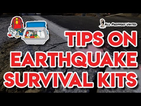 3 tips on Earthquake Survival Kits by All Preppers United