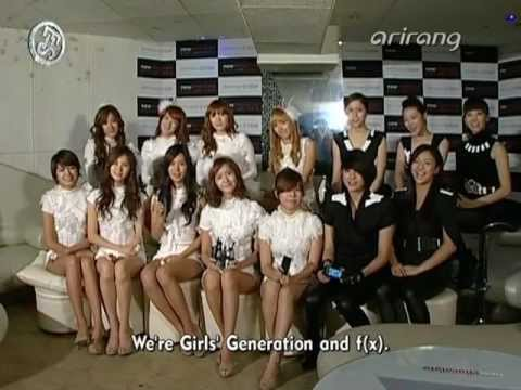 [en] SNSD & f(x) New Chocolate Phone Showcase A Oct26.2009 GIRLS' GENERATION