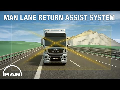 The MAN Lane Return Assist System for a safer drive