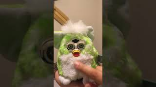 Generation 4 Furby Baby Lime Green