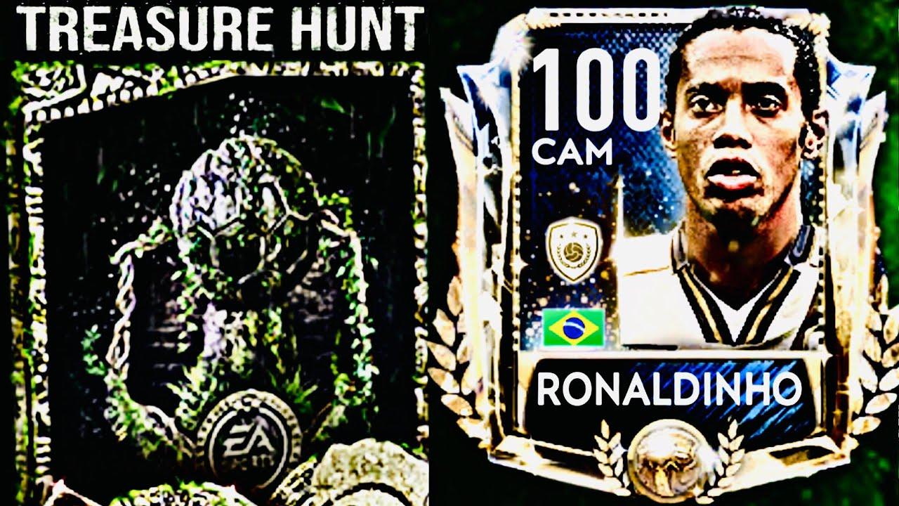 BIGGEST PRIME ICON RONALDINHO TREASURE HUNTS IN FIFA MOBILE