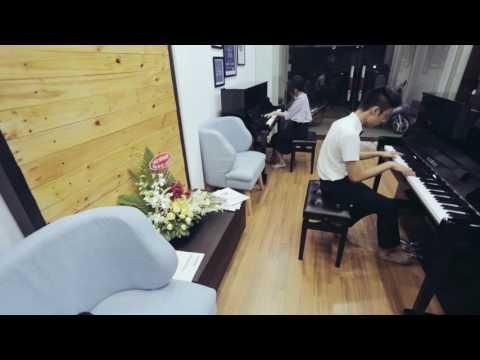River Flows In You Duet [Yiruma x Henry]   An Coong & Vinh Nguyen    AN COONG PIANO