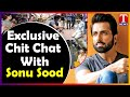 Sonu Sood Exclusive   Special Chit Chat With Sonu Sood   T News