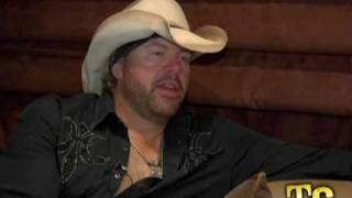 """Toby Keith """"I Will Never Smoke Weed With Willie Nelson Again"""""""