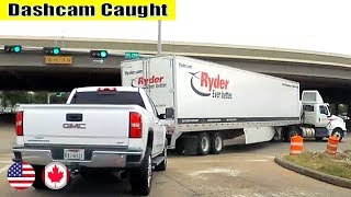 Ultimate North American Cars Driving Fails Compilation - 220 [Dash Cam Caught Video]
