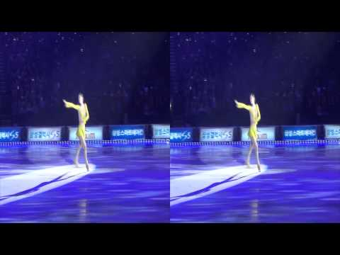 [3D] 2014 All That Skate - Day 1 - Yuna Kim - Send in the Clowns