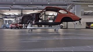 Restoration process of a very special 911.