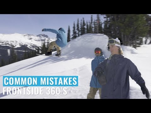 Common Mistakes with Frontside 360's