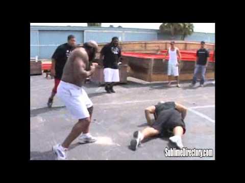 Kimbo Slice vs Afropuff Poster