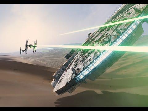 Star Wars: The Force Awakens - vizuálne efekty