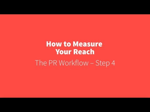 PR Academy - How to measure your reach