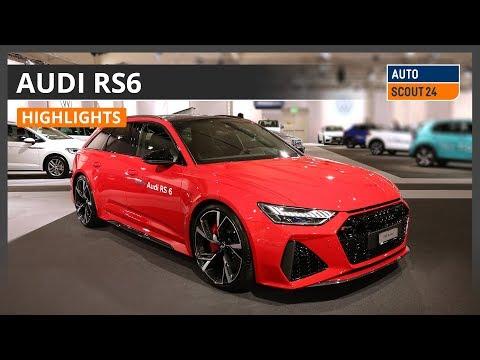Audi RS6 - Highlights von der Auto Zürich 2019