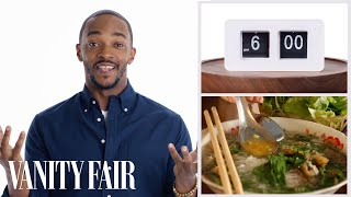 Everything Anthony Mackie Does In a Day | Vanity Fair