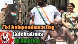 India Day Parade : 71st Independence Day Celebrations In America