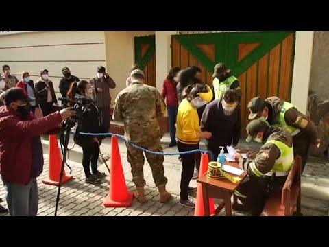 DIRECTO  Bolivia celebra elecciones tras las renuncia de Evo Morales hace un año
