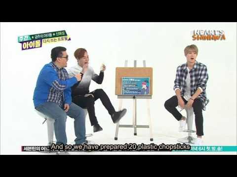 [ENG] 160210 Weekly Idol - Shinhwa Hyesung & Andy (2/3)
