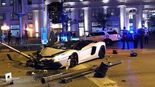 My Aventador Crashed into a Police Car.