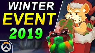 Overwatch 2019 Winter Wonderland - Event Start Date, Skins, & Content Predictions!