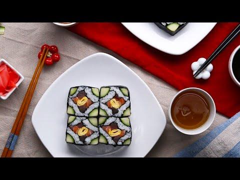 Easy Mosaic Sushi
