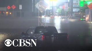Tropical depression Beta batters Texas coast