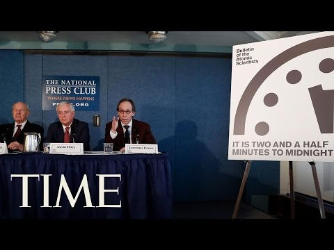 Doomsday Clock Jump Forwards To Two And A Half Minutes To Midnight   TIME