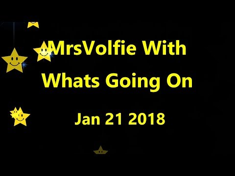 What's Going On Jan 21st 2018