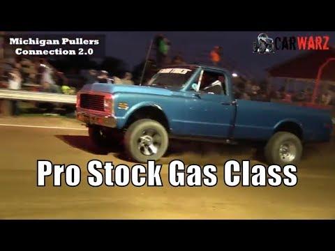 Pro Stock Gas Class Trucks TTPA Pulls At Peck Michigan June 1 2018