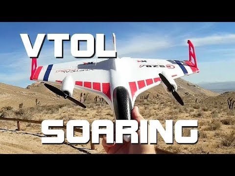 XK X520 VTOL Slope Soaring Flight Test Review