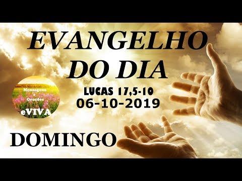 EVANGELHO DO DIA 06/10/2019 Narrado e Comentado - LITURGIA DIÁRIA - HOMILIA DIARIA HOJE