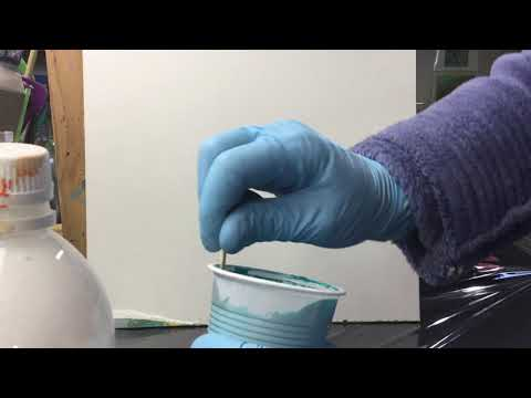 ( 838 ) How to mix acrylic for pouring