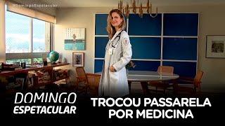 Ana Claudia Michels troca passarelas por medicina