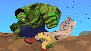 Hulk vs Saitama Animation (Part 3) - Taming The Beast