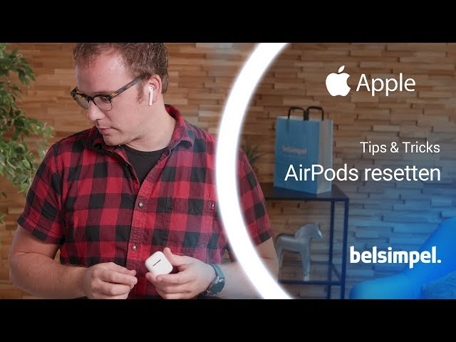 Belsimpel-productvideo voor de Apple AirPods 2019 (met oplaadcase)