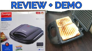 Prestige Sandwich/ toaster Review+ Demo | How to use electric sandwich toaster |PRESTIGE Model PGMFB