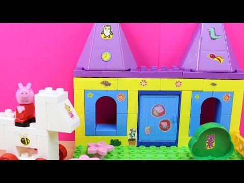 Juguete de Construcción de Peppa Pig | Castillo de Peppa Pig en español