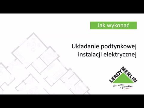 Jak zrobić instalację elektryczną w domu? Układanie instalacji pod tynkiem