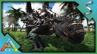 THIS ANKY IS MASSIVE! JURASSIC ANKYLOSAURUS TAMING- Ark: Jurassic Park [E11]