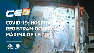 COVID-19: Hospitais registram ocupação máxima de leitos