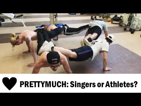 PRETTYMUCH: Singers or Athletes?