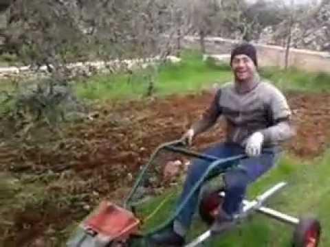 Il mio nuovo trattore fatto in casa for Youtube motozappa