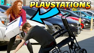 Karen Steals PlayStation 5 From Guy In Wheelchair (INSTANTLY REGRETS IT) To Catch A Thief